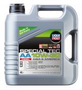 Полусинтетическое моторное масло Liqui Moly Special Tec AA Diesel 10W-30 4л