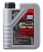 Синтетическое моторное масло Liqui Moly Top Tec 4300 5W-30 1л