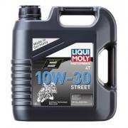 Синтетическое моторное масло для мотоциклов Liqui Moly Motorbike 4T 10W-30 Street 4л