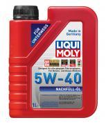 Синтетическое моторное масло Liqui Moly Nachfull-Oil 5W-40 1л