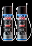Комплект (Очиститель дизельной впускной системы проф. Liqui Moly Pro-Line Diesel Intake System Cleaner 400мл, 2шт)