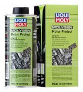 Антифрикционная присадка для долговременной защиты двигателя Liqui Moly Molygen Motor Protect 500мл