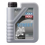 Полусинтетическое моторное масло для мотоциклов Liqui Moly Motorbike 2T Street 1л