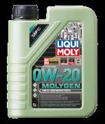 НС-синтетическое моторное масло LIQUI MOLY Molygen New Generation 0W-20, 1л