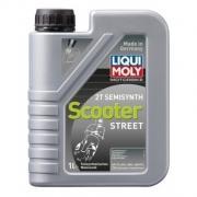 Полусинтетическое моторное масло для мотоциклов Motorbike 2T Semisynth Scooter Street 1л